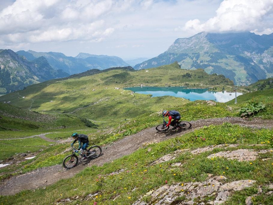 MTB and Bicycle Riding around Lungern, Switzerland - Tipp from Emma's Hotel B&B